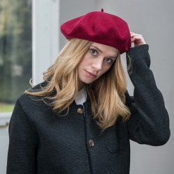 Le gabriel Bordeaux Red - Red beret