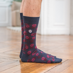 Les lucas ANEMONE - Socks with pattern