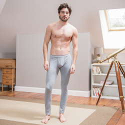 For Him - Le raphael Grey - Grey leggings with pouch