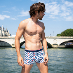NOUVELLE COLLECTION - Le marius chevron LSF x Saint James - Boxer