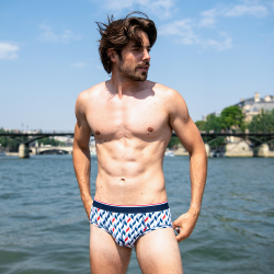 For Him - Le terrible CHEVRON SAINT JAMES - Brief LSF x Saint James
