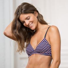 La suzanne Stripes Tricolor - Classic striped bra