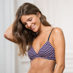 Underwear for Her - La suzanne Stripes Tricolor - Classic striped bra