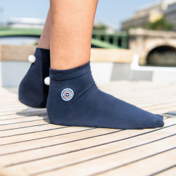LSF X SAINT JAMES - Les lorette Navyblue - Socks LSF x Saint James