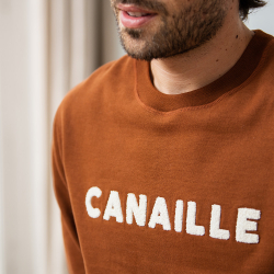 Sweats Homme - Le barthe RENARD CANAILLE - Sweat RENARD CANAILLE