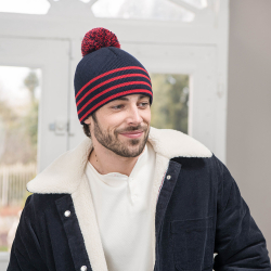 ACCESSORIES - Le César - Blue beanie