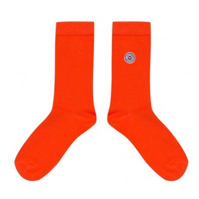 Chaussettes Homme - Les Lucas - Chaussettes unies orange