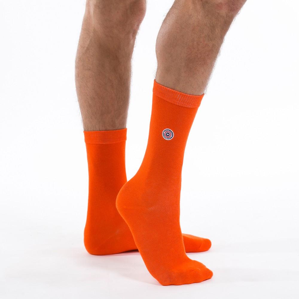 La Lozère - Chaussettes orange