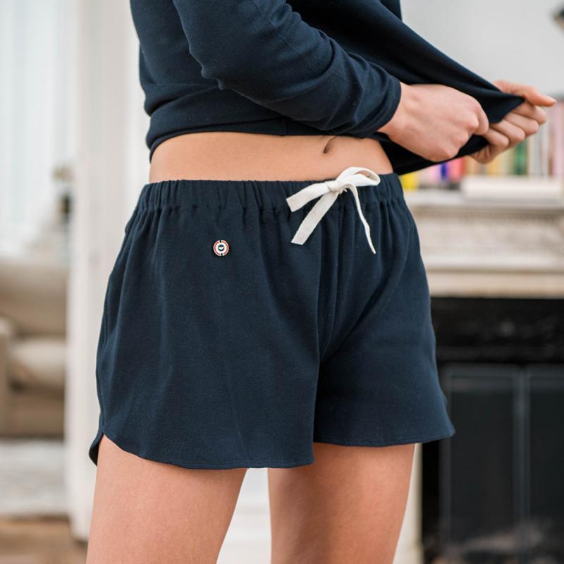 La Dita marine - Short de pyjama femme   Le Slip Français 🇫🇷 556fb2431b7