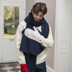 ACCESSORIES - La faustine - Scarf with intergrated mittens
