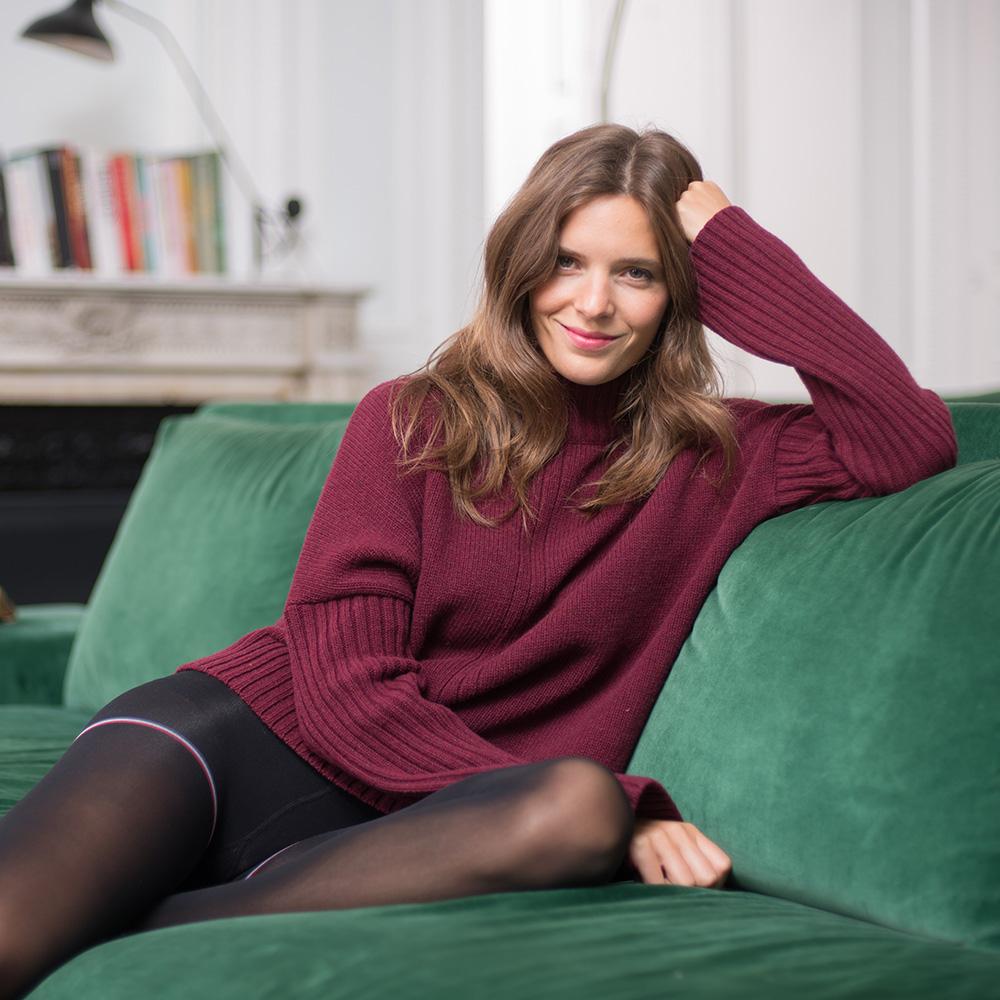 Maille Femme Prune Le Slip Français