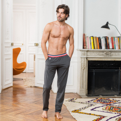 For Him - Le toudou ANTHRACITE - Anthracite grey pyjama pants