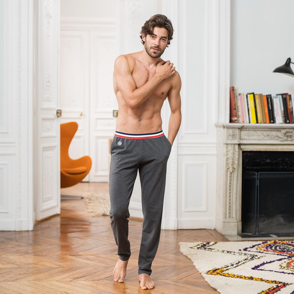 Le Toudou anthracite - Bas pyjama