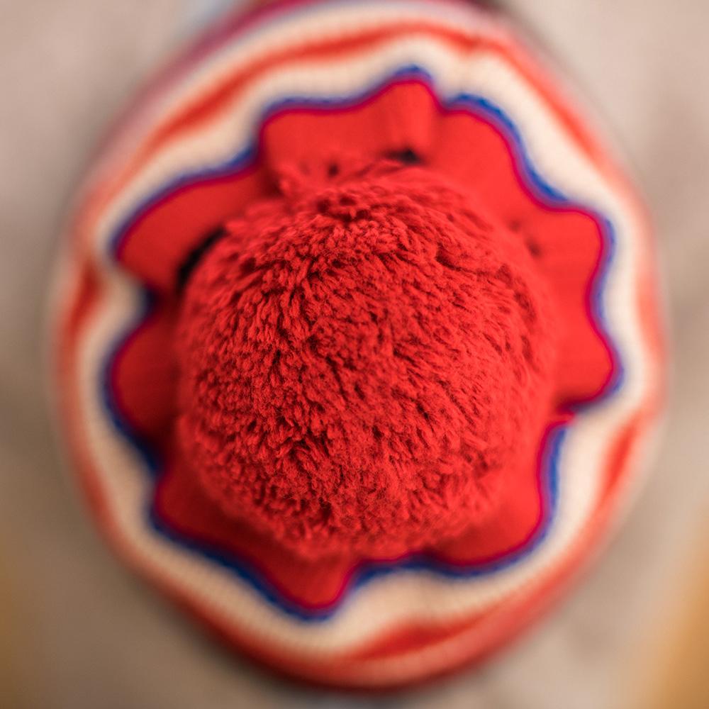 Le pompon TELET18 - Bonnet TELET18