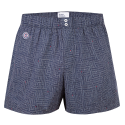 BOXER SHORTS - Le jacques MAZE - Navyblue boxershort with pattern