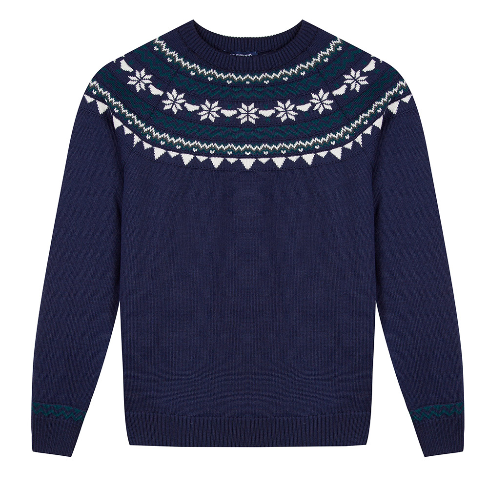 Le rodolphe COURONNE MARINE - Pull COURONNE MARINE