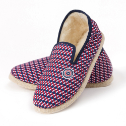 Les charentaises cubes BBR - chaussons