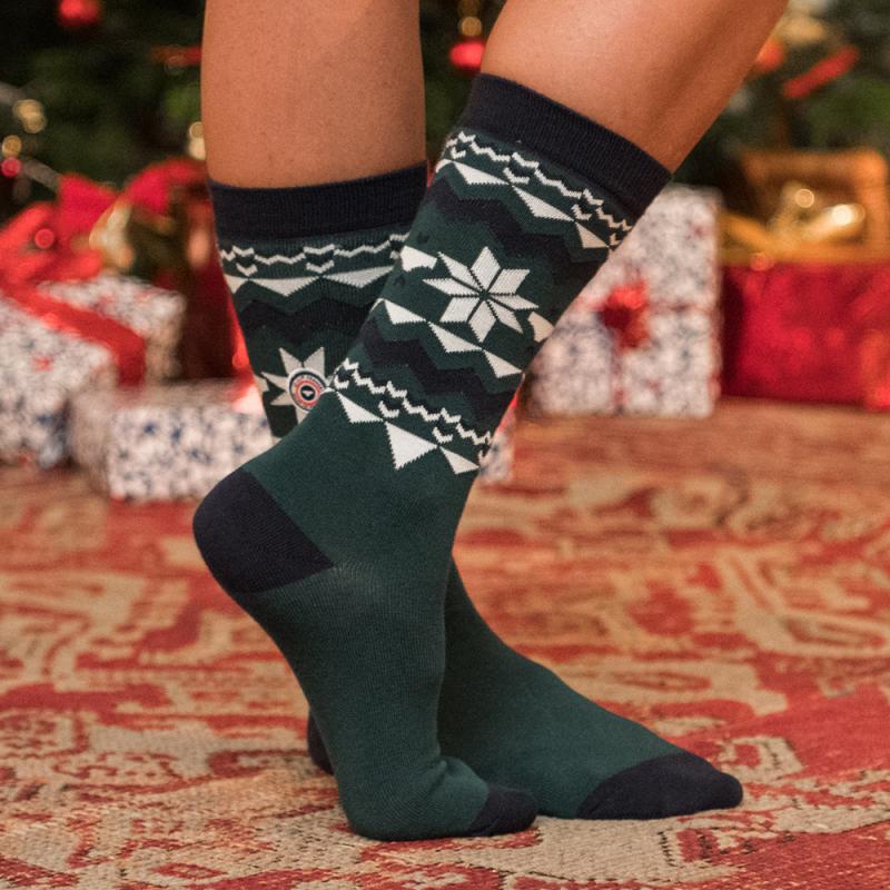 Geschenkbox Lucas Weihnachten - Trio gemusterte Socken   Le Slip ...