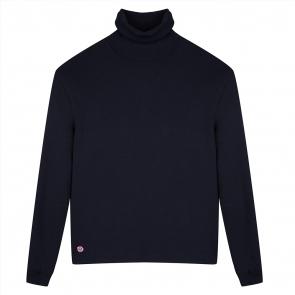 Navyblue turtleneck pullover