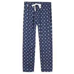 Schlafanzugoberteile für sie - Le charlie Schneeflocke - Gemusterte Schlafanzughose
