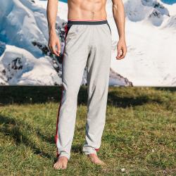 HOME SLIP HOME - Le ralph - Grey pyjama pants