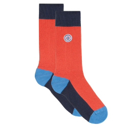Les lucas tricolor- Three-coloured socks