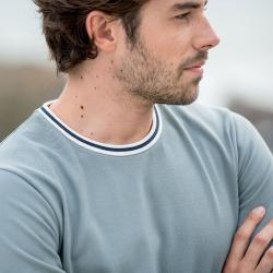 T-Shirts Homme - Le Paul Vert de Gris - Tshirt