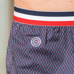 Le roland Zick-Zack - Gemustere Boxershorts