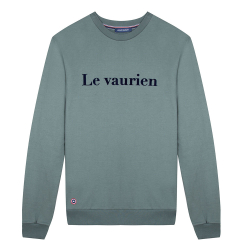 NOUVELLE COLLECTION - Le Barthe Kaki - Sweat kaki Le Vaurien
