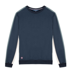 NOUVELLE COLLECTION - Le Bastien Marine/Ecru/kaki - Sweat