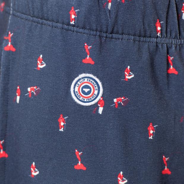 Schlafanzughose mit Muster