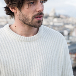 Clothing for him - Le colin - Beige pullover