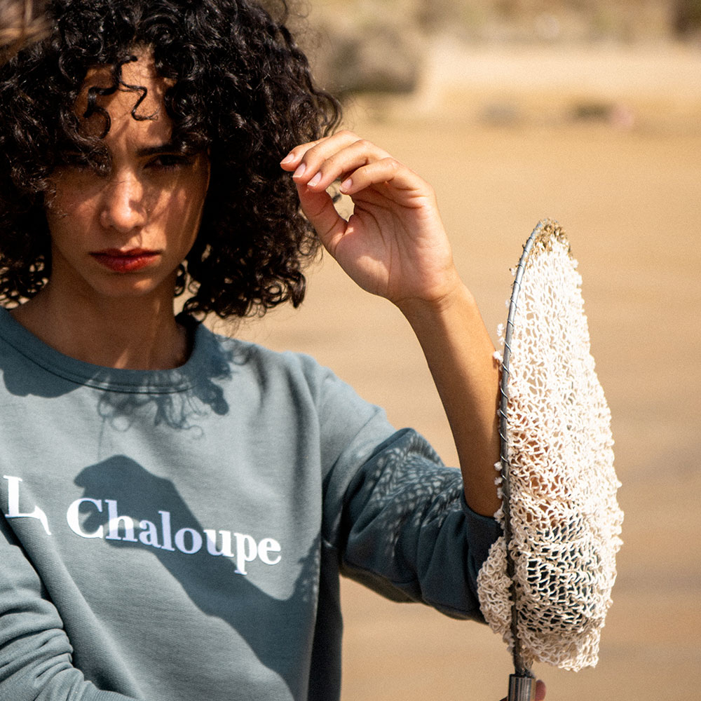 Sweat Femme La Cassandre Kaki/La Chaloupe Le Slip Français