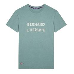 Le jean f L'HERMITE - Khaki t-shirt with screen print