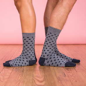 Les lucas duo Herzen - 2er Pack Socken
