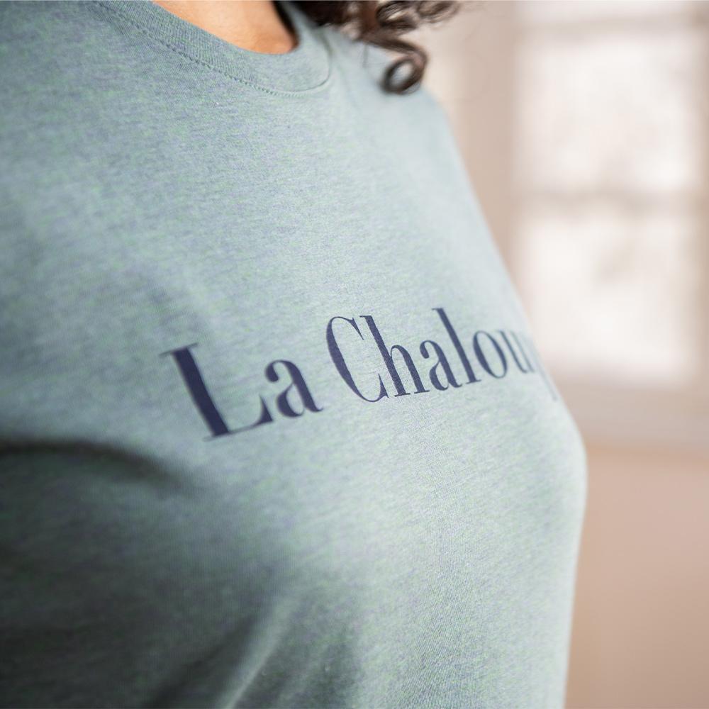 Tshirt Femme La Jeanne-F Kaki/La Chaloupe Le Slip Français