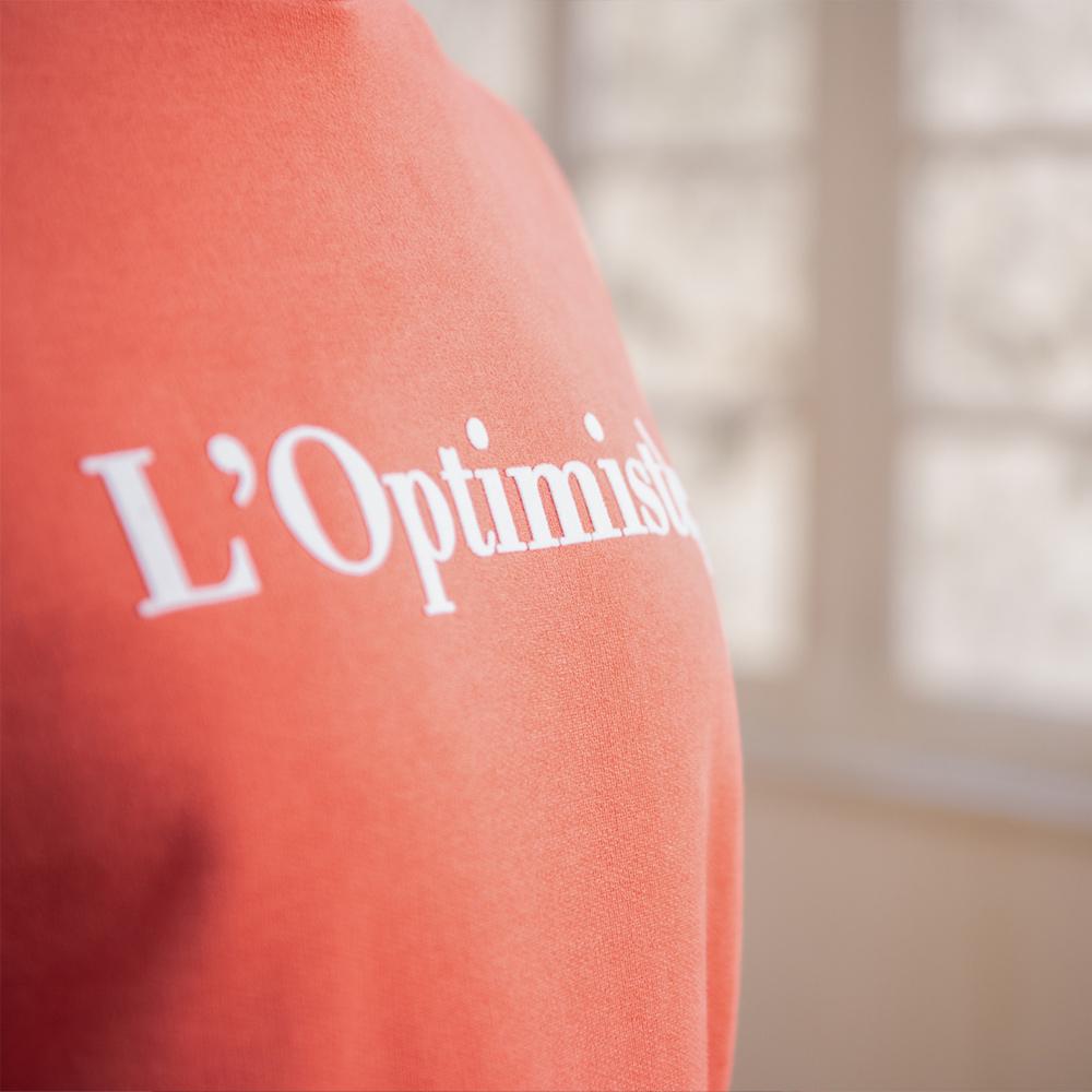 Le Barthe Corail - Sweat corail l'Optimiste