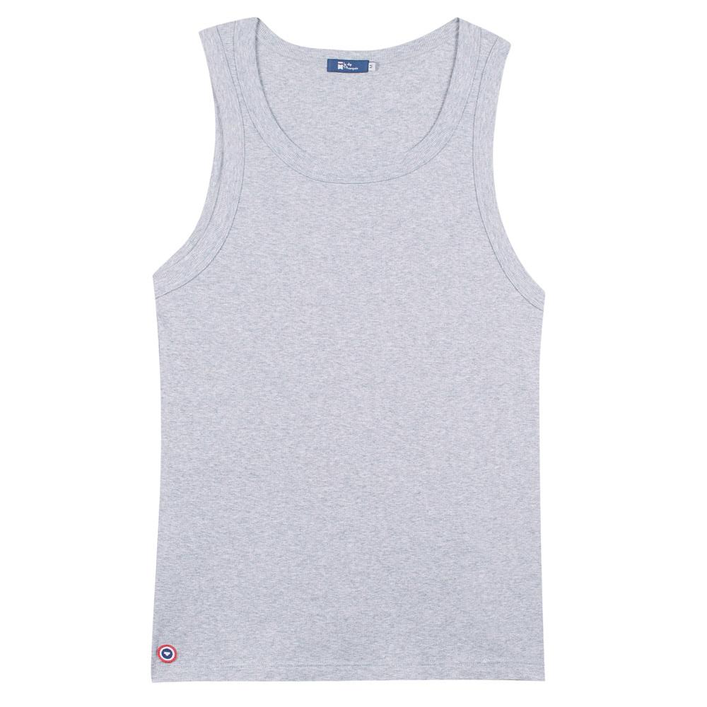 Le Marcel Gris Chiné - T-shirt