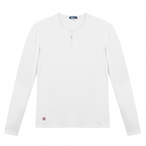 Henley T-Shirt in white