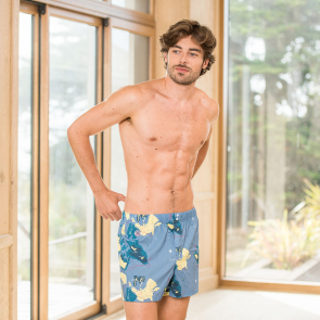 Boxershort with map print