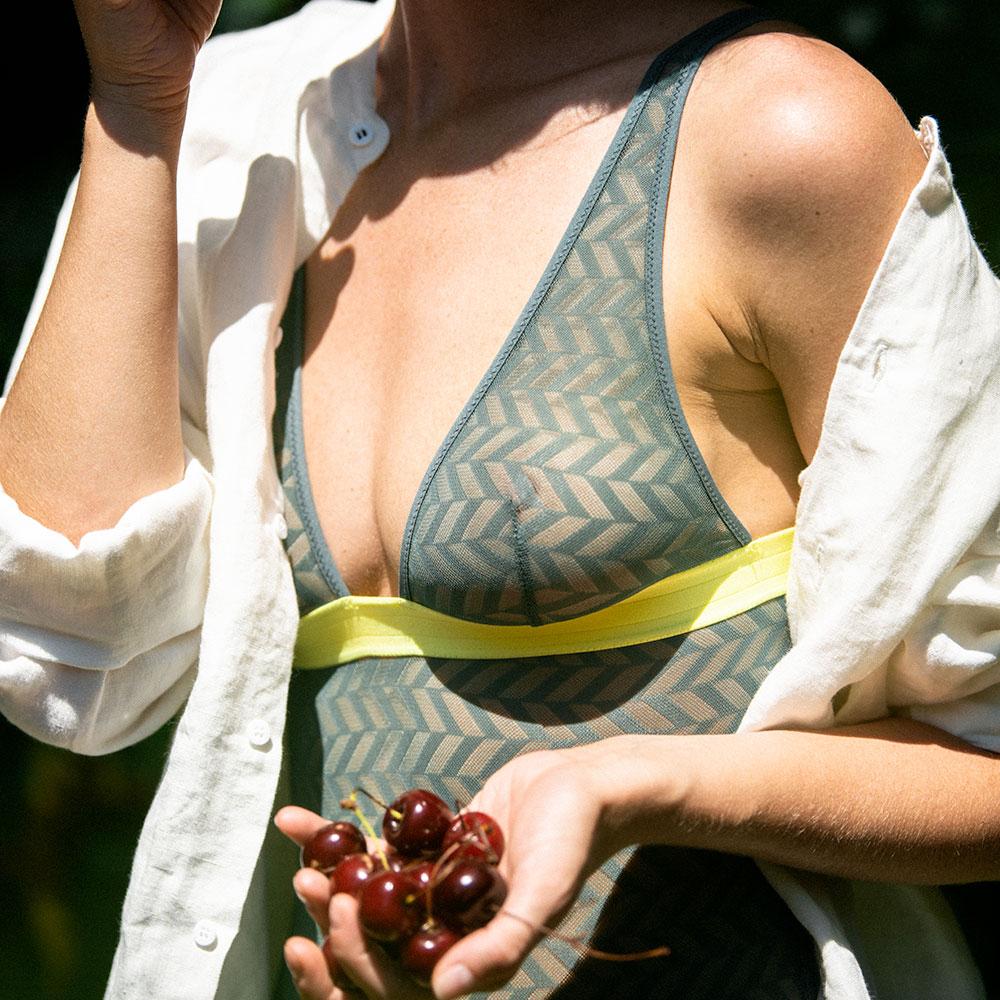 La Elodie Kaki et Granité - Body