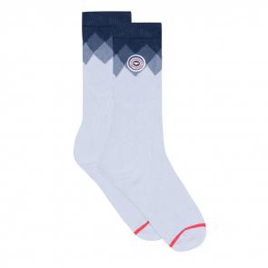 dc1f68f3f63ea Cotton socks - Les Lucas Carré Bleu Ciel - Chaussettes