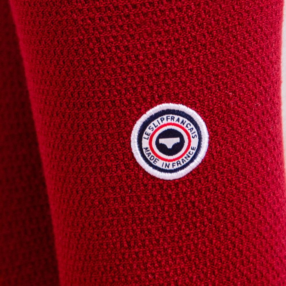 Les lucas PIQUE ROUGE FONCE - Chaussettes PIQUE ROUGE FONCE