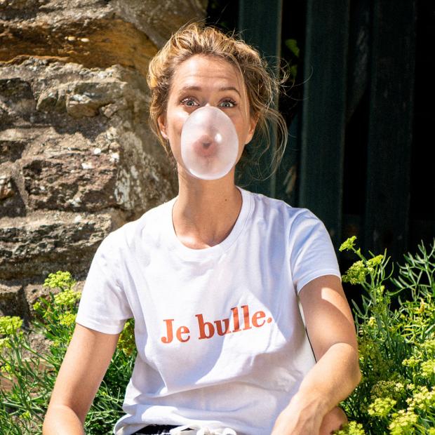 T-shirt sérigraphié en coton