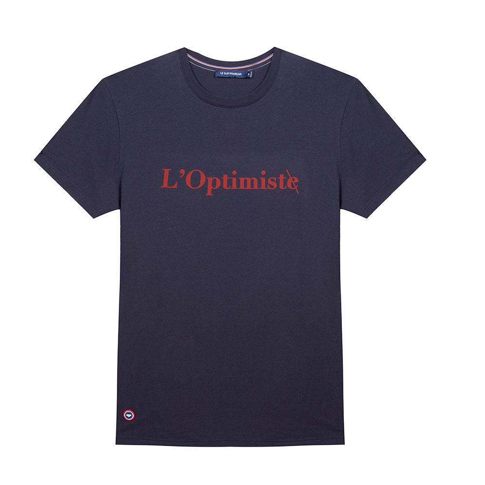Le Jean F L'Optimiste - Tshirt Marine / L'Optimiste