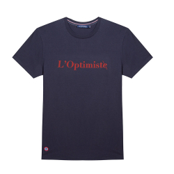 Le Jean F L'Optimiste - Tshirt Marine / L'Optimiste