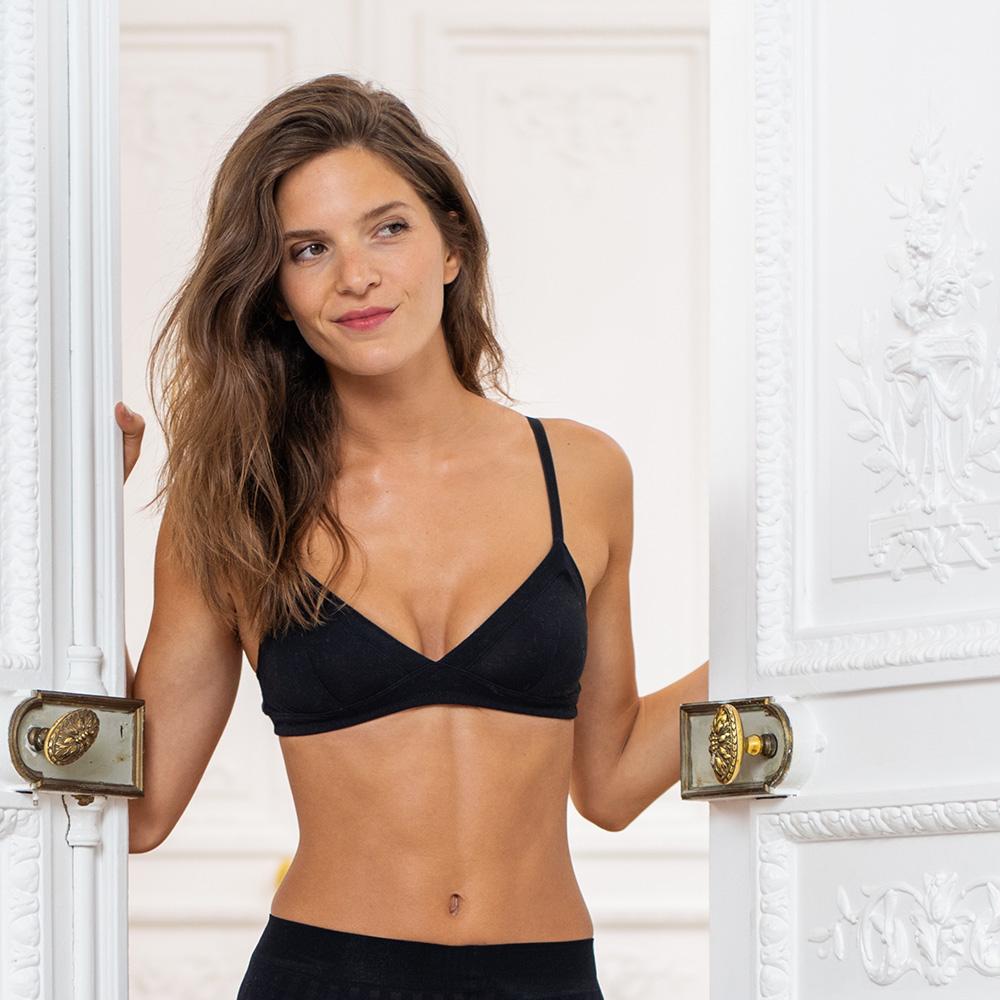 Le Suzanne - Black classic bra