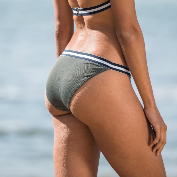 Bikini bottom kaki