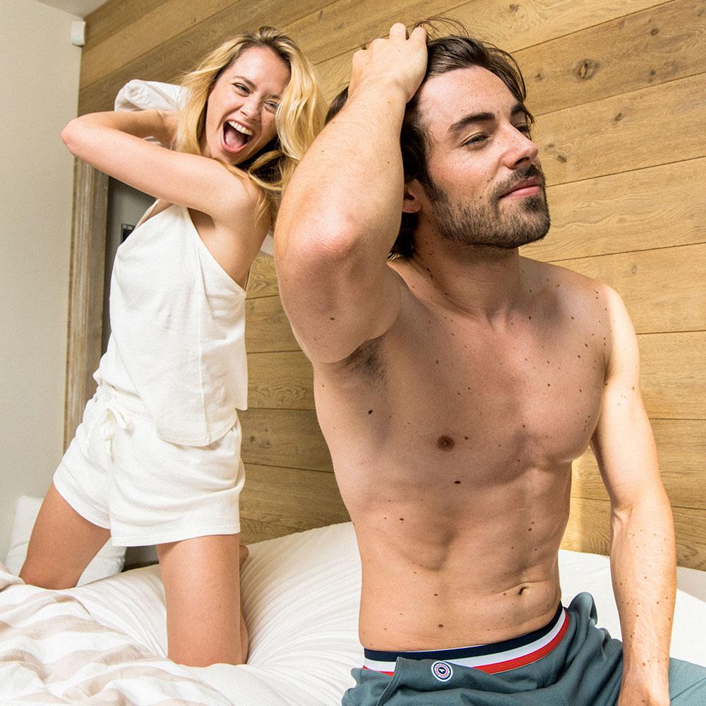 La ninon ECRU - Haut pyjama ECRU