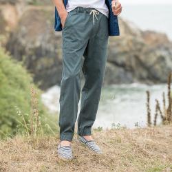 Le Gatien Kaki - Pantalon kaki